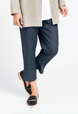 Ankle Pant in Slate Handkerchief.