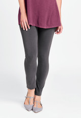 Ankle Length Leggings in Nine Iron.