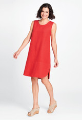 Rosy Dress in Poppy.