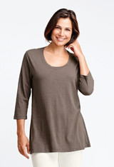 FINAL SALE! 3/4 Sleeve Tunic (FLAX Tees & Leggings 2016) - select colors