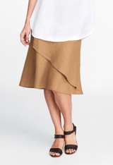 FINAL SALE! Layover Skirt In Solid (FLAX Socials 2017)