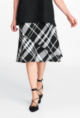 FINAL SALE! Layover Skirt In Plaid (FLAX Socials 2017)