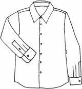 (Pre-Order) Men's Long Sleeve Shirt (FLAX Bold 2018 for Men)