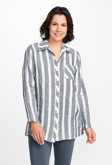 Bias Back Shirt (UnderFLAX 2018) Stripes Only