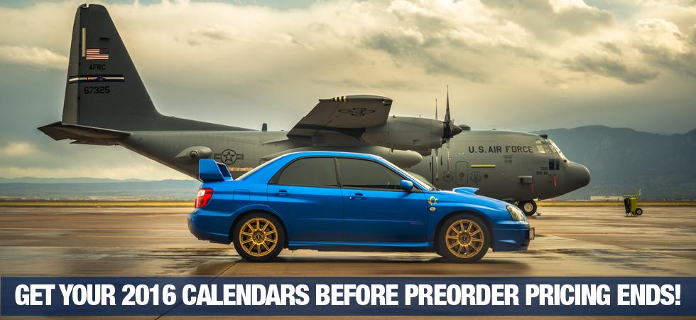 2016 SUBARU Calendar | WRX Calendar | STI Calendar | Forester Calendar | Legacy Calendar | BRZ Calendar