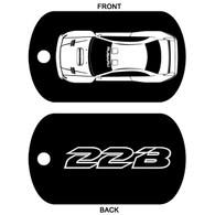 Subaru 22B STI Key Ring