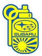 Subie Bomb Sticker