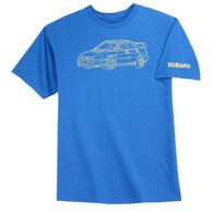 Subaru Tec Drawing T-Shirt