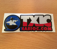 NASIOC TXIC Region Special Decal