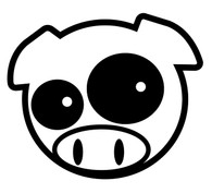 Subaru Rally Pig (Black)