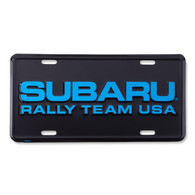 SUBARU Rally Team USA License Plate Delete