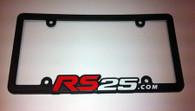 RS25 Molded License Plate Frame