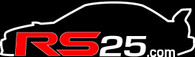 RS25 ver5 STi Wing Logo Vinyl Sticker