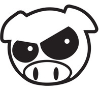 Subaru Angry Rally Pig (Black)
