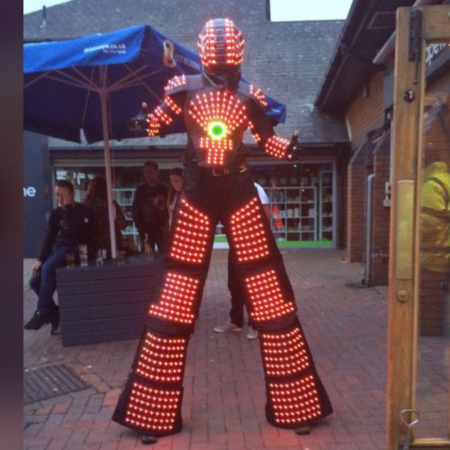 led show robots