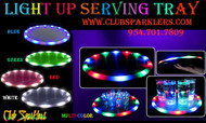 LED, serving, tray, bars, clubs, lounges, raves, alcohol, waiter, waitress,party tray,plastic tray,bar tray,trays,light up tray