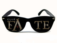 WAYFARER custom sunglasses for promoting your nightclub
