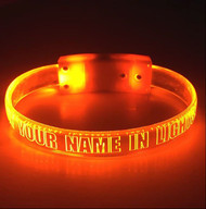LED Light Up  Wristbands Sound & Motion Activated Customized