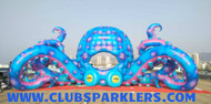 led octopus inflatable