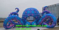 LED Inflatable Octopus  DJ Booth - 33' Foot
