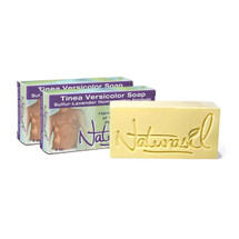 2-Pack Tinea Versicolor Medicated Soap 4 oz Bar