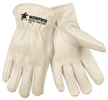 From wranglin' to buildin', these Memphis MG3200 gloves are tough for the job! Cowhide is the most commonly used leather due to availability. Characteristics include a good balance between abrasion resistance, dexterity, durability and comfort.
