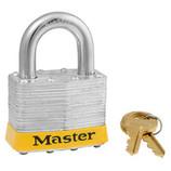 MASTER LOCK YELLOW PADLOCK SAFETY LOCKOUT 410 SERIES 410YELLOW