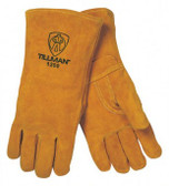 TILLMAN WELDERS GLOVE SIDE SPLIT COWHIDE COTTON LINED LARGE 1200