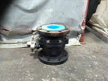 "4"" 150 # CAST STEEL FLANGED FULL PORT BALL VALVE WITH 316 SS TRIM J & M YK-32-CS"