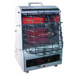 TPI PORTABLE ELECTRIC HEATER RADIANT WITH FAN 120V 198TMC