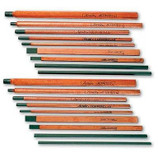 ARCAIR 3/8 X 5/32 X 12 FLAT CARBON ROD ELECTRODE 35-099-003
