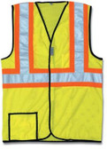 OCCUNOMIX MESH SAFETY VEST WITH REFLECTIVE STRIPE X-LARGE LUX-SSCOOLG-YXL