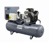 ATLAS COPCO LE / LT: Industrial Aluminum Piston Compressors, 1.5-15 kW / 2-20 hp
