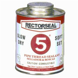 RECTORSEAL NO. 5 PIPE THREAD SEALANT / 8 OZ - 25551