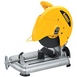 Quick, accurate crosscuts are easy to execute with the DEWALT 14-Inch Chop Saw featuring Quick-Change keyless wheel changes. The exclusive Quick-Lock Vise lets you secure materials fast, while the powerful 15 amp motor makes quick work of tough cuts. This saw also features convenient wheel changes and a portable, ergonomic design that's easy on your body, so you can work smarter for longer.