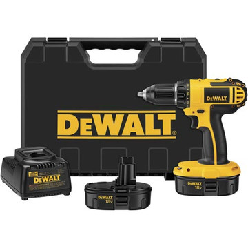The DEWALT DC720KA 18-volt 1/2-inch cordless compact drill/driver kit is built around a versatile tool that makes quick work of a variety of driving and fastening tasks. With its high-performance, frameless motor; dual-range, variable-speed control; and comfortable grip, this tool is powerful and easy to handle.