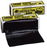 "36"" X 56"" HEAVY  DUTY BLACK TRASH CAN LINER - 55 GAL / 3.0 MIL / 30/BX - HB55-30"