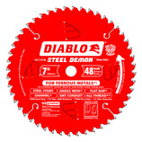 DIABLO 7-1/4 X 5/8 STEEL DEMON METAL CUTTING SAW BLADE 48 TOOTH D0748F