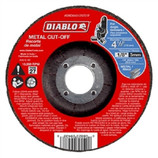 "DIABLO - STEEL DEMON 4‑1/2"" Metal DC Cut Off Disc ‑ Type 27 (DBD045125701F)"