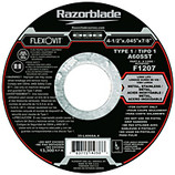 FLEXOVIT 4-1/2x.045x7/8 A60SST METAL STAINLESS XTR FAST CUT  CUTOFF DISC/WHEEL 25/BX F1207