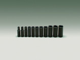 "WRIGHT 11 PIECE 1/2 DRIVE 6 POINT DEEP IMPACT SOCKET SET STANDARD 3/8"" - 1"" 412"