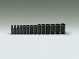 "WRIGHT 14 PIECE 1/2"" DRIVE 6 POINT DEEP IMPACT SOCKET SET 3/8 - 1-1/4 407"