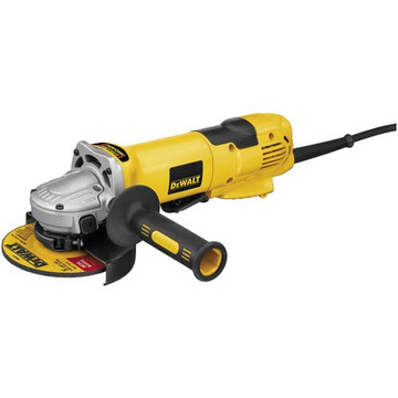"""DEWALT Grinders offer professional concrete and metalworking users a wide range of choices. DEWALT 4 1/2"""" Small Angle Grinders, 5"""" Medium Angle Grinders, 9"""" Large Angle Sander/Grinders and DEWALT Straight and Die Grinders are designed for rigorous use and long life."""