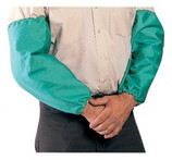 "TILLMAN 18"" 9 OZ FLAME RETARDANT GREEN WELDING SLEEVE WITH ELASTIC BOTH ENDS 6218"