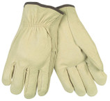 Memphis 3400 Drivers Glove - Straight Thumb (S / M / L / XL)  Memphis 3400 Pigskin Drivers gloves have excellent abrasion resistance. Offers greatest breathability because of the porous nature of the hide and becomes softer with use. Inherently retains natural softness after exposure to water.