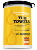 TUB-O TOWELS 90/SHEETS PER TUB - TW90