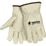 MEMPHIS PREMIUM GRAIN PIGSKIN DRIVERS GLOVE THERMOSOCK LINED LARGE 3460L