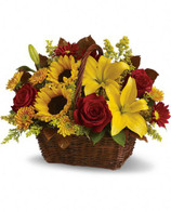 Golden Days Basket by Teleflora