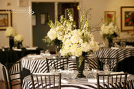 Black and White Center piece