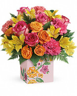 Painted Blossoms by Teleflora